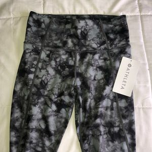 Black Tie Dye Athleta Leggings